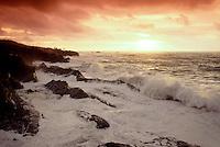 S00020.tiff   Sunset at Shore Acres State Park, Oregon