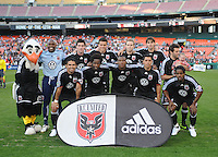 DC United Starting Elven.   DC United tied New England Revolution 1-1 at  RFK Stadium, Friday April 17, 2009.