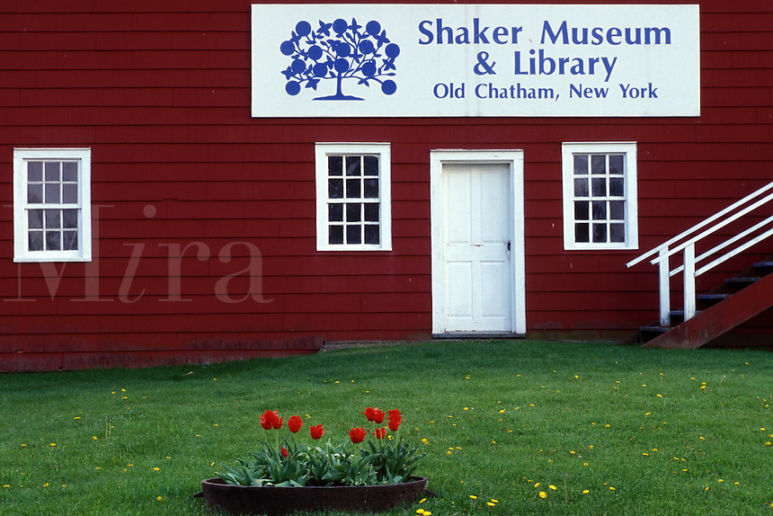 shakers, red barn, Shaker Museum and Library, Old Chatham, New York