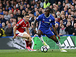 Chelsea's Victor Moses in action during the Premier League match at Stamford Bridge Stadium, London. Picture date: May 8th, 2017. Pic credit should read: David Klein/Sportimage