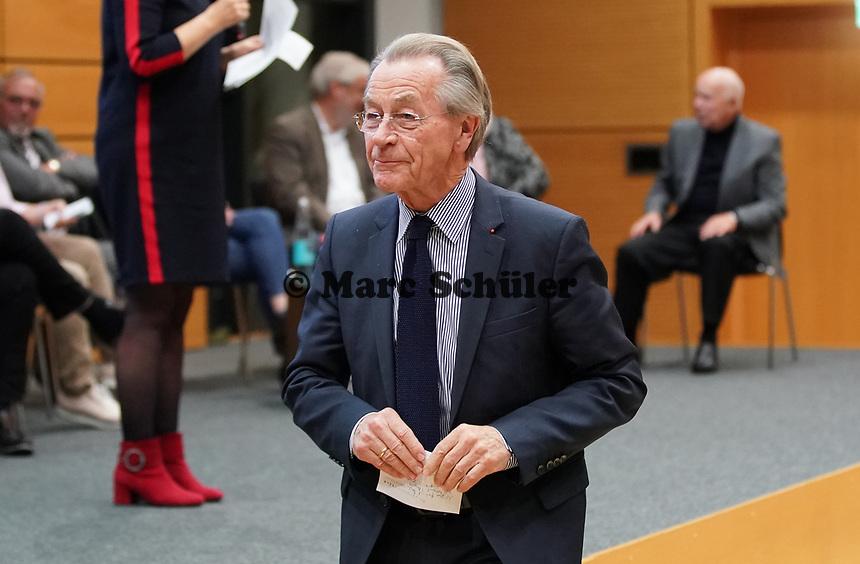 Ex-Bundesminister Franz Müntefering (SPD) als Ehrengast beim Jubiläum der Generationenhilfe - Gross-Gerau 28.10.2019: Festakt zum Jubiläum der Generationenhilfe