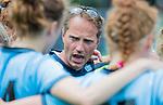 BLOEMENDAAL - coach Robbert-Jan de Vos (HGC) na de 2e play out wedstrijd tussen Bloemendaal-HGC dames (2-0). COPYRIGHT KOEN SUYK
