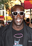 Michael K. Williams.attending the opening night of the Broadway limited engagement of 'Fela!' at the Al Hirschfeld Theatre on July 12, 2012 in New York City.