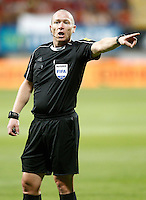 Referee Lee Evans during FIFA World Cup 2018 Qualifying Round match. September 5,2016.(ALTERPHOTOS/Acero)