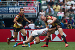 Belgium vs Japan during the HSBC Sevens Wold Series Shield Semi Finals match as part of the Cathay Pacific / HSBC Hong Kong Sevens at the Hong Kong Stadium on 29 March 2015 in Hong Kong, China. Photo by Manuel Bruque / Power Sport Images