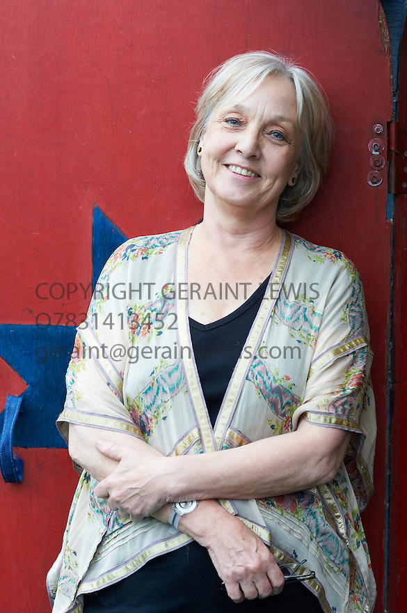Anne Fine,.One of Britain's most distinguished writers for young people reveals how she chooses what to write next - something funny, serious, or a mix of both - where her ideas spring from and how she turns them into finished books. Anne has been awarded many prizes for her work, been translated into forty languages and was Children's Laureate from 2001-at The Edinburgh International Book Festival 2011.  Credit Geraint Lewis