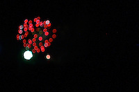 4th of july fireworks artistically rendered bokeh style