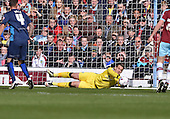 02/05/16 Sky Bet League Championship  Burnley v QPR<br /> Tom Heaton first half save