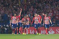 2017.10.14 La Liga Atletico de Madrid VS FC Barcelona