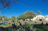 RD- Fairmont Princess Aerial Hammock Yoga & Lawn Yoga, Scottsdale AZ 5 15