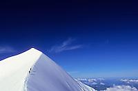 Dômes de Miage (3673 m), Mont-Blanc Massif, France, 2011.