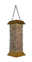 Peanut bird feeder for common garden birds