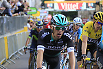 Rafal Majka (POL) Bora-Hansgrohe crosses the finish of Stage 3 of the 104th edition of the Tour de France 2017, running 212.5km from Verviers, Belgium to Longwy, France. 3rd July 2017.<br /> Picture: Eoin Clarke | Cyclefile<br /> <br /> All photos usage must carry mandatory copyright credit (&copy; Cyclefile | Eoin Clarke)