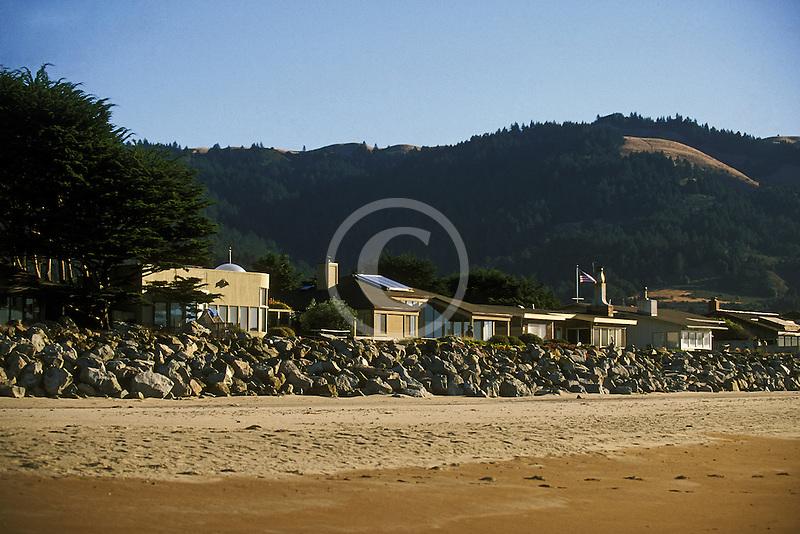 California, Stinson Beach, Beach Houses