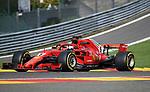 24.08.2018, Circuit de Spa-Francorchamps, Spa-Franchorchamps, FORMULA 1 2018 JOHNNIE WALKER BELGIAN GRAND PRIX, 23. - 26.08.2018<br /> , im Bild<br />Sebastian Vettel (GER#5), Scuderia Ferrari<br /> <br /> Foto © nordphoto / Bratic