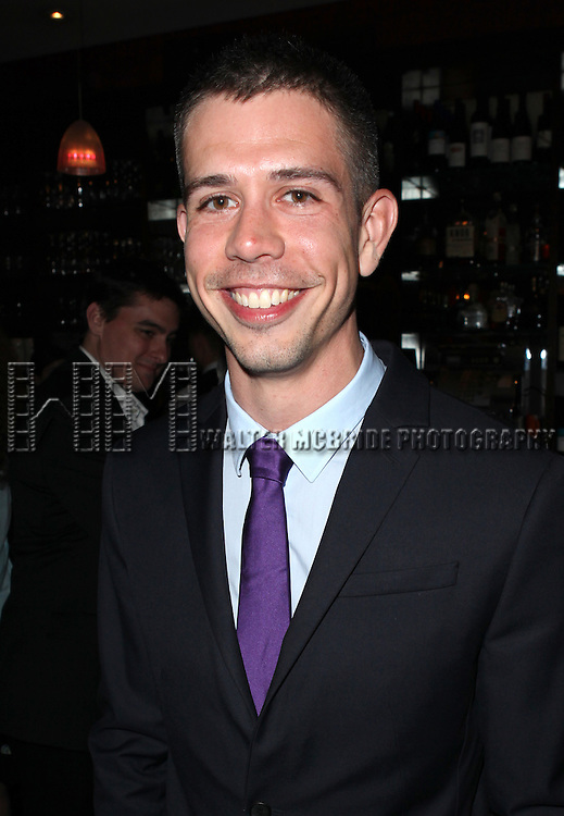 Stephen Karam.attending the New York Drama Critics' Circle Awards at Angus McIndoe in New York City on 5/14/2012.