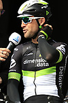Bernhard Eisel (AUT) Team Dimension Data presented to the crowd before the start of the 60th edition of the Record Bank E3 Harelbeke 2017, Flanders, Belgium. 24th March 2017.<br /> Picture: Eoin Clarke | Cyclefile<br /> <br /> <br /> All photos usage must carry mandatory copyright credit (&copy; Cyclefile | Eoin Clarke)