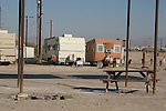 Trailers at Salton Sea