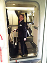 Noreen Van der Velde in her early days as cabib crew for British Airways. (Family Photo for the Belfast Telegraph)