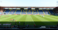 20170719 - BREDA , NETHERLANDS : illustration picture shows the Rat Verlegh stadion during Matchday -1 training session of the Belgian national women's soccer team Red Flames on the pitch of NAC BREDA , on wednesday 19 July 2017 in stadion Rat Verlegh in Breda . The Red Flames are at the Women's European Championship 2017 in the Netherlands. PHOTO SPORTPIX.BE | DAVID CATRY