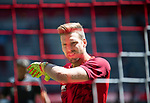 Torwart Andreas LUTHE (A)<br /><br />Fussball 1. Bundesliga, 33.Spieltag, Fortuna Duesseldorf (D) -  FC Augsburg (A), am 20.06.2020 in Duesseldorf/ Deutschland. <br /><br />Foto: AnkeWaelischmiller/Sven Simon/ Pool/ via Meuter/Nordphoto<br /><br /># Editorial use only #<br /># DFL regulations prohibit any use of photographs as image sequences and/or quasi-video #<br /># National and international news- agencies out #