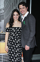 NEW YORK, NY - October 6:  Jeanine Mason,  Nathan Parson, at New York Comic Con 2018 promoting The CW's  Roswell, New Mexico at the Jacob K. Javits Convention Center in New York City on October 06, 2018. <br /> CAP/MPI/RW<br /> &copy;RW/MPI/Capital Pictures