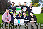 FUN MATHS WEEK: Secondary school students from Listowel Community College had fun figuring it all out during national Maths Week last week. Pictured from front l-r were: Stephen Goulding (Deputy Principal), Sabrina Loughnane, Nicole O'Connor, Megan Fealey and Aisling Culhane (teacher and Maths Week co-ordinator). Back l-r were: Jack Kingston, Jack Barrett, Donie Falvey and Bella Geks.