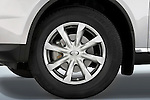 Close up wheel detail of a 2008 Infiniti FX35 SUV