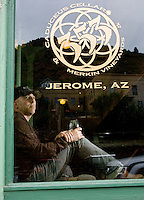 AZ wine- 8/12/09- Maynard James Kennan is the owner of Caduceus Cellar. He is also the frontman for the rock band Tool. (Pat Shannahan/ The Arizona Republic)