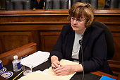 Rachel Mitchell, a prosecutor from Arizona, is seen prior to Christine Blasey Ford, the woman accusing Supreme Court nominee Brett Kavanaugh of sexually assaulting her at a party 36 years ago, testifies during his US Senate Judiciary Committee confirmation hearing on Capitol Hill in Washington, DC, September 27, 2018.  / AFP PHOTO / POOL / SAUL LOEB / AFP PHOTO / POOL / Saul LOEB