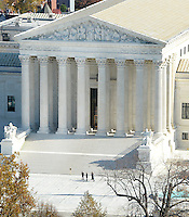 The United States Supreme Court Building can be seen from the top of the recently restored US Capitol dome, November 15, 2016 in Washington, DC. <br /> Credit: Olivier Douliery / Pool via CNP /MediaPunch