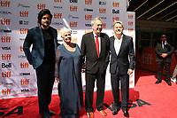 ALI FAZAL, JUDY DENCH, DIRECTOR STEPHEN FREARS AND EDDIE IZZARD - RED CARPET OF THE FILM 'VICTORIA & ABDUL' - 42ND TORONTO INTERNATIONAL FILM FESTIVAL 2017