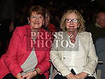 Anne Hughes and Francis Beagan at the Lord Mayor's show in The Barbican Centre. Photo:Colin Bell/pressphotos.ie