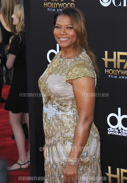 Queen Latifah at the 2014 Hollywood Film Awards at the Hollywood Palladium.<br /> November 14, 2014  Los Angeles, CA<br /> Picture: Paul Smith / Featureflash