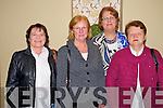 "Enjoying the play ""Dear Frankie"" by Niamh Gleeson, in The Malton hotel , Killarney on Wednesday night were Eileen Daly, Killarney, Eileen McSparron, Killarney, Claire O'Sullivan, Ballyhar and Sheila McGillycuddy, Killarney."