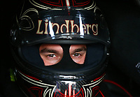 Apr 21, 2017; Baytown, TX, USA; NHRA funny car driver Jonnie Lindberg during qualifying for the Springnationals at Royal Purple Raceway. Mandatory Credit: Mark J. Rebilas-USA TODAY Sports