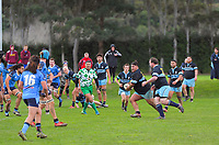 Action from the Manawatu senior B rugby union match between Massey Rams and Kia Toa at Massey University in Palmerston North, New Zealand on Saturday, 18 July 2020. Photo: Dave Lintott / lintottphoto.co.nz