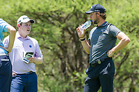 Robert Macintyre (SCO) and Thomas Pieters (BEL) during the 3rd round at the Nedbank Golf Challenge hosted by Gary Player,  Gary Player country Club, Sun City, Rustenburg, South Africa. 16/11/2019 <br /> Picture: Golffile | Tyrone Winfield<br /> <br /> <br /> All photo usage must carry mandatory copyright credit (© Golffile | Tyrone Winfield)