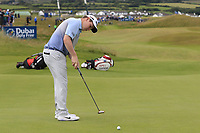 Robert MacIntyre (SCO) putts on the 17th green during Saturday's Round 3 of the Dubai Duty Free Irish Open 2019, held at Lahinch Golf Club, Lahinch, Ireland. 6th July 2019.<br /> Picture: Eoin Clarke | Golffile<br /> <br /> <br /> All photos usage must carry mandatory copyright credit (© Golffile | Eoin Clarke)