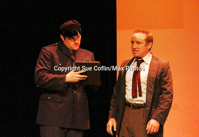 Eric Parker and Cast in Sunset Boulevard for several weeks in August at the Barn Theatre in Augusta, Michigan. The photos are from the dress rehearsal. (Photo by Sue Coflin/Max Photos)