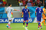 Masato Morishige (JPN), <br /> JUNE 14, 2014 - Football /Soccer : <br /> 2014 FIFA World Cup Brazil <br /> Group Match -Group C- <br /> between Cote d'Ivoire 2-1 Japan <br /> at Arena Pernambuco, Recife, Brazil. <br /> (Photo by YUTAKA/AFLO SPORT) [1040]