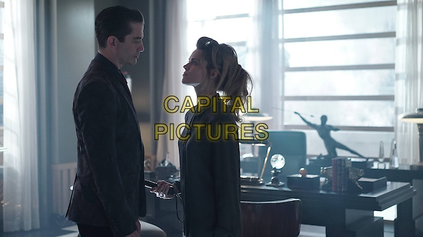 Gotham (2014 - ) <br /> (Season 2, Episode 2, &quot;Knock, Knock&quot;)<br /> James Frain and Erin Richards<br /> *Filmstill - Editorial Use Only*<br /> CAP/KFS<br /> Image supplied by Capital Pictures