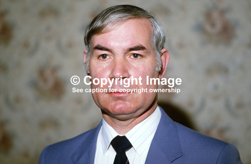 Ivan Davis, assemblyman, South Antrim, DUP, Democratic Unionist Party, N Ireland, UK, 19840062ID..Copyright Image from Victor Patterson, 54 Dorchester Park, Belfast, UK, BT9 6RJ..Tel: +44 28 9066 1296.Mob: +44 7802 353836.Voicemail +44 20 8816 7153.Skype: victorpattersonbelfast.Email: victorpatterson@me.com.Email: victorpatterson@ireland.com (back-up)..IMPORTANT: If you wish to use this image or any other of my images please go to www.victorpatterson.com and click on the Terms & Conditions. Then contact me by email or phone with the reference number(s) of the image(s) concerned.
