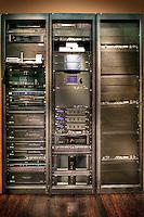 Organized Electronics In Equipment Racks
