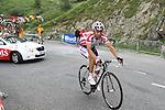 2011 Tour de France Etapa 12 de Cugnaux a Luz Ardiden. Samuel Sanchez guanya la etapa on es concentren tots els aficionats vascos
