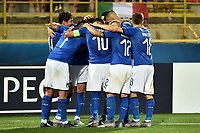Federico Chiesa of Italy celebrates with team mates after scoring the goal of 2-1 <br /> Bologna 16-06-2019 Stadio Renato Dall'Ara <br /> Football UEFA Under 21 Championship Italy 2019<br /> Group Stage - Final Tournament Group A<br /> Italy - Spain <br /> Photo Andrea Staccioli / Insidefoto