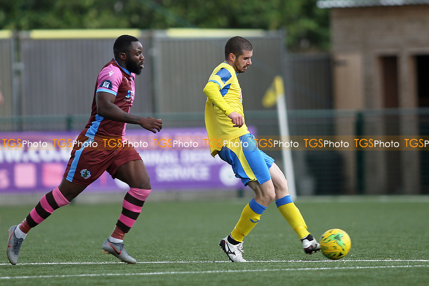 Georgios Aresti of Haringey during Haringey Borough vs Corinthian Casuals, BetVictor League Premier Division Football at Coles Park Stadium on 10th August 2019