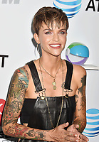 LOS ANGELES, CA - JUNE 02: Ruby Rose arrives at the 2018 iHeartRadio Wango Tango by AT&amp;T at Banc of California Stadium on June 2, 2018 in Los Angeles, California.<br /> CAP/ROT/TM<br /> &copy;TM/ROT/Capital Pictures