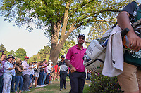 Shubhankar Sharma (IND) approaches the 18th tee during round 3 of the World Golf Championships, Mexico, Club De Golf Chapultepec, Mexico City, Mexico. 3/3/2018.<br /> Picture: Golffile | Ken Murray<br /> <br /> <br /> All photo usage must carry mandatory copyright credit (&copy; Golffile | Ken Murray)