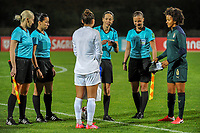 20200307  Parchal , Portugal : The toss pictured before the female football game between the national teams of New Zealand called the Football Ferns and Italy , called the Azzurre on the second matchday of the Algarve Cup 2020 , a prestigious friendly womensoccer tournament in Portugal , on saturday 7 th March 2020 in Parchal , Portugal . PHOTO SPORTPIX.BE | STIJN AUDOOREN